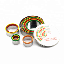 cookie cutter sets rainbow mousse ring