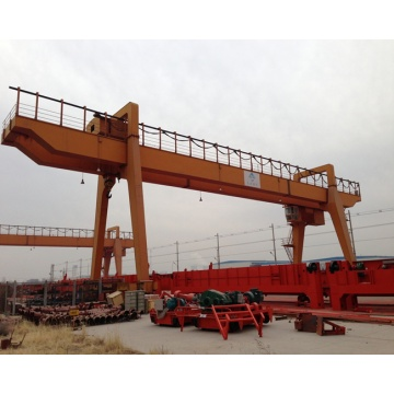 30 ton double girder railway gantry crane