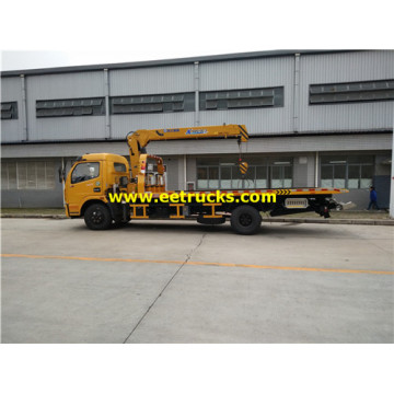 XCMG 5ton Tow Truck Wreckers mounted Cranes