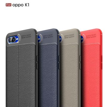 Leather Soft TPU Scratch Resistant for OPPO K1