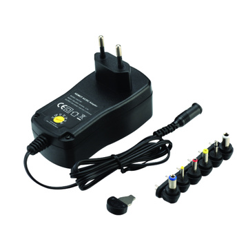 Adaptador de potencia intercambiable de voltaje variable 3-12V 27W