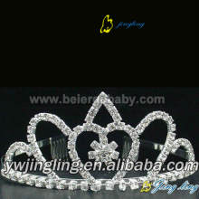 Wedding rhinestone tiara pageant crowns CR-674