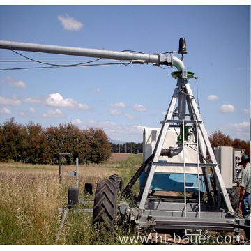 linear pivot irrigation system