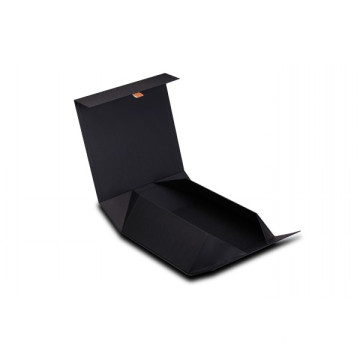 Black Soft Touch Paper Folding Boxes