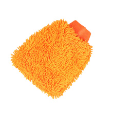 Wholesale custom microfiber chenille car cleaning glove