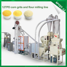 Small Corn Flour Machine
