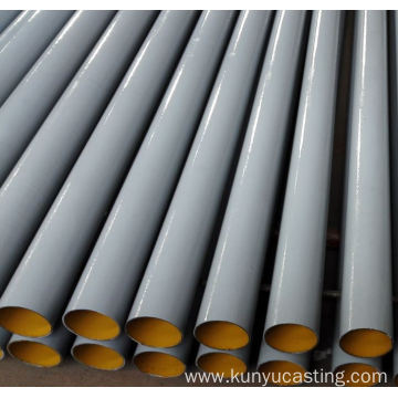 Cast iron drainage pipe