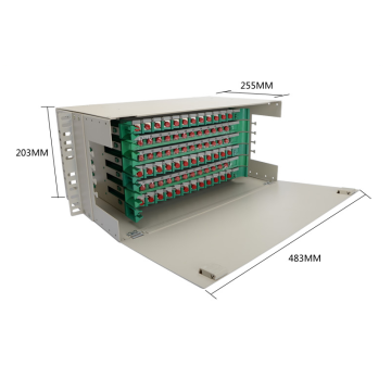 72 Cores Optical Distribution Frame ODF