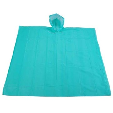 High quality preferential disposable waterproof PE raincoat