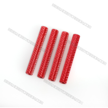Colorful Aluminum Knurled Round Standoff With Low Price