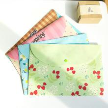 Pencil Bag Novelty Stationery Kawaii File Bag Cute Cartoon Student Information Paper Korean Bag Pencil Case School Supplies