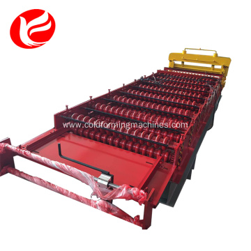 Color steel roof panel roofing sheet machine equipment