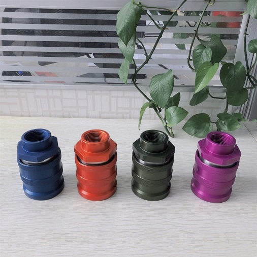 ISO16028 Quick Coupling FF0B Female Purple