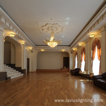 Luxury house lighting hotel lobby crystal chandelier light