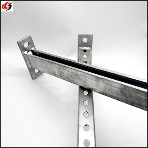 Heavy duty cantilever arms galvanized cable bracket for cable tray support