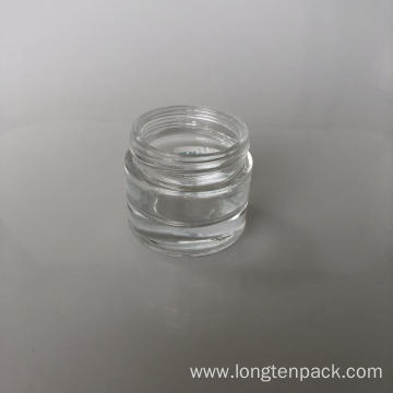 60ml column glass jar
