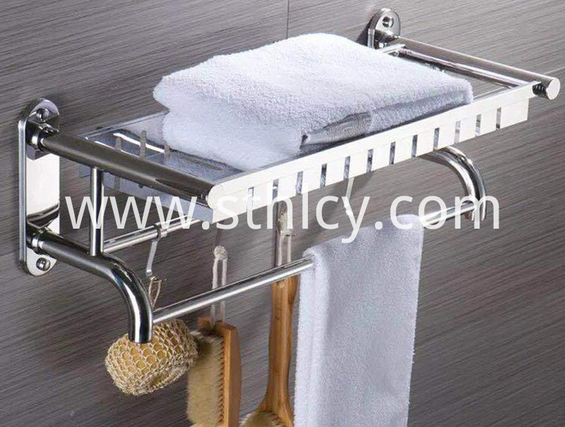 Convenient Toilet Towel Hanging (2)