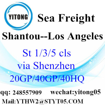 Shantou Shipping Service to Los Angeles