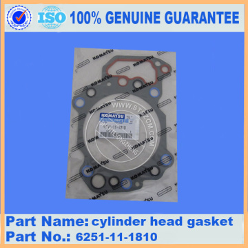 PC450-8 CYLINDER HEAD GASKET 6251-11-1810