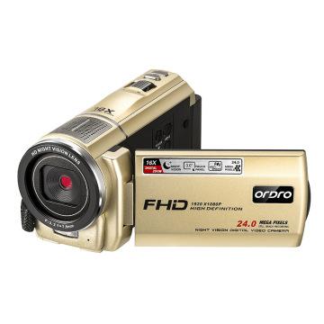 Ordro F7 Video Camera Camcorder Vlog Camera Filmadora Full HD 16X Digital Zoom Video Camaras for YouTube Videos