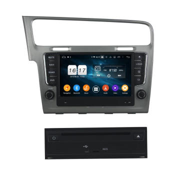 Android system car dvd gps for Golf 7