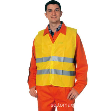 Hi-Vis Safety Reflective Roadway Mens Vest