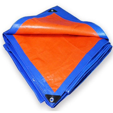 blue orange heavy used for truck pe tarpaulin