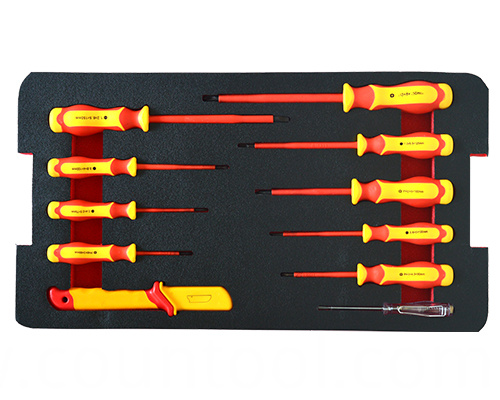 VDE 11pcs screwdriver set