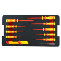 VDE 11pcs screwdriver ,knife and tester