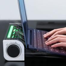Base Notebook Cooler Laptop Cooling Pad Stand Speed RGB Adjustable Gaming For Laptop Tablet Phone Cooler Pad Holder Desk Fan