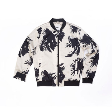 Men`s Polyester all over printing jacket