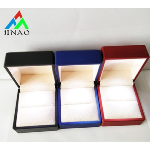 led jewelry ring pendant bangle bracelet box