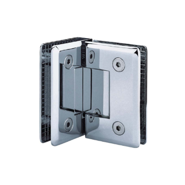 Glass to Glass Door Hinges 90 Degree