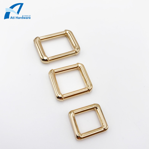 Square Bag Buckle Metal Bag Accessories Decorative Buckle