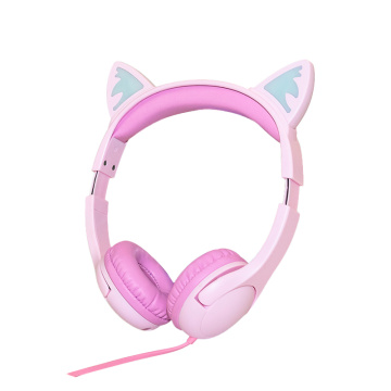 BSCI headset with colorful and attractive flexible features which are perfect as a gift for kids or cosplay fans