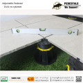 Roof  garden wood plastic floor  bracket