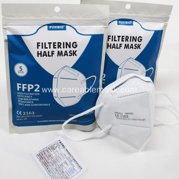careable biotechnology CE FFP2 filtering respirator mask