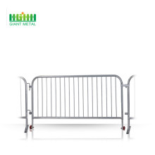 Control barrier temporary fencing