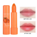 Natural Temperature Lipstick Change Color Peach Jelly Long Lasting Moisturizing Sweet Cute Peach Lips Nutritious Cosmetic TXTB1