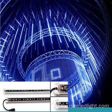 Wholesale 50cm DMX RGB falling star 3D tube