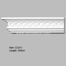 High Quality PU Corner Cornice Mouldings