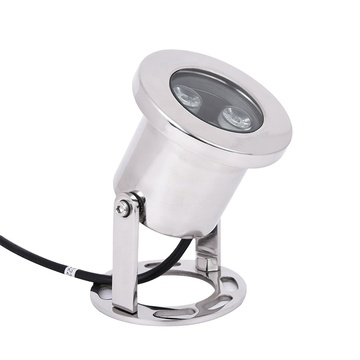 IP68LED underwater light made of stainless steel