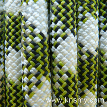 pp polypropylene double braided rope