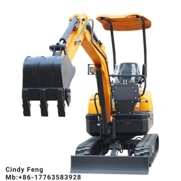 Digger machine weight: 1.6t