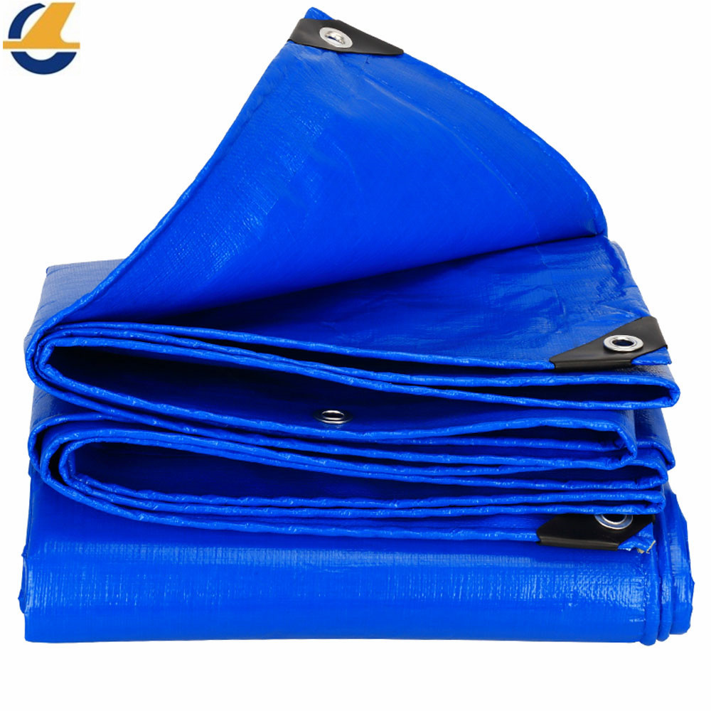 Blue Poly Tarps Truck Cover