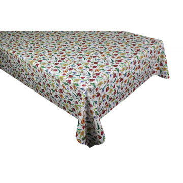 Pvc Printed fitted table covers Fall Table