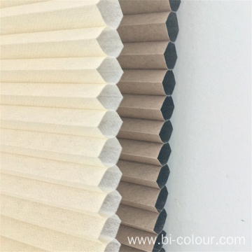 Electric Top Down Bottom Up Honeycomb Cellular Shades