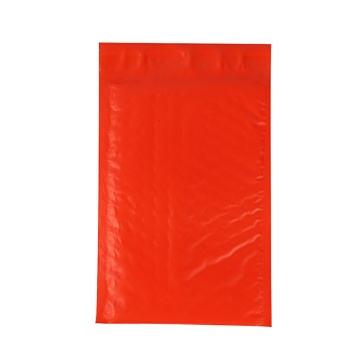 Red Holographic Poly Bubble Mailer Packaging Bag