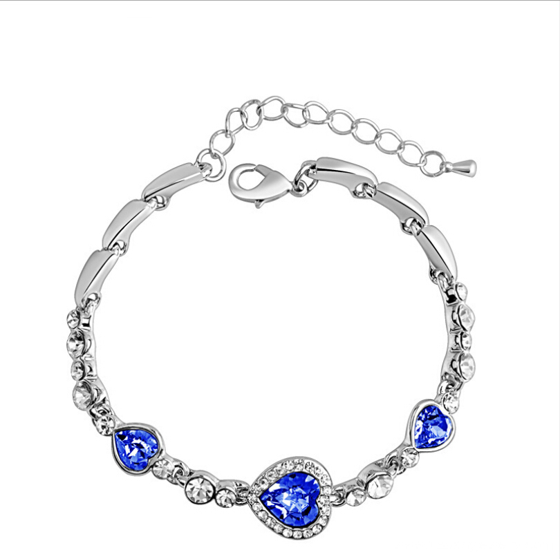 New fashion sea heart bracelet