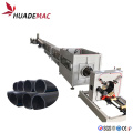 400-800mm PE gas /water supply pipe machine